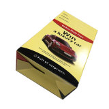 Caixa de embalagem de papel componente do carro luxuoso com punho