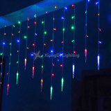 Fiesta de Navidad Decoración de jardín de la burbuja de luz carámbano iluminación LED de 50 Outdoot Hada de la luz de la cadena de Energía Solar
