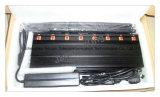 Bloqueador Sócios Efetivos 8 Antenas Refrigerado; GSM, CDMA, 3G UMTS, 4glte, telefones celulares, WiFi e Bluetooth, 4gwimax Redes, Lojack/Sistema de Rastreamento por GPS