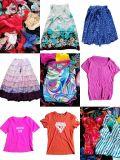 Preiswerte verwendete Kleidung-Import-Dame-Baumwollnachtabnützung