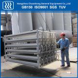 Lar Lox Lin LNG Lco2 Vaporisateur ambiante de l'air haute pression