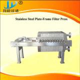 Tierra de diatomeas del bastidor de la placa de filtro prensa
