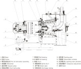 Lwlスクロール排出のフィルタに掛ける遠心分離機