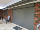 High Impact Proof Metallic Window Roller Shutters for Residential Homes