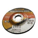 muela abrasiva del disco abrasivo de centro deprimido del metal de 115*6*22.2m m