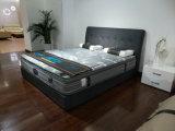 최신 판매 침실 세트 실제적인 가죽 연약한 침대 (SBT-26)