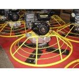 (HMR100) 5.0HP Robin Benzin-Motor-Energietrowel-Maschine