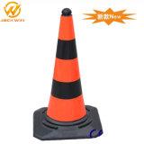 Pesado de mercado Israle Black&Orange 750mm reflexo do Cone de tráfego