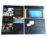 Tela LCD de promoção na Brochura de vídeo