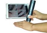 WiFi mini Lupa microscopio digital para la piel del cuero cabelludo detectar