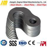 Service en acier personnalisé de découpage de précision en acier de découpage de procédé de plaque en acier