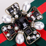 Neck Bow Tie Pin Brooch Classic Bowknot Necktie Jabot Collar Neck Tie for Cravat Follows Accessory (J02)