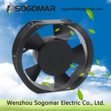 Ventilador de ventilación del rodamiento de bolitas de la CA de la calidad superior 12/24/48 V 2850rpm