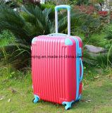Bagagli duri delle coperture dell'ABS dei bagagli 4wheels 3p del tessuto Lj1-249