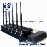 Regelbare 15W Hoge Macht 6 de Telefoon van de Cel van de Antenne, 3G, GPS L1, L2, L5 Stoorzender