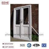 Portes de bureaux avec panneau en aluminium de l'intérieur de porte en verre