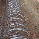 316ステンレス鋼450mmのコイルアコーディオン式かみそりの有刺鉄線