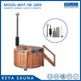 Tina caliente de madera del nuevo Jacuzzi maravilloso de las tinas calientes con precio barato
