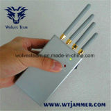 Antenas Jammer-Omnidirectional portáteis Handheld do GPS WiFi do telemóvel