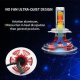 Новая оптовая продажа водоустойчивое IP67 9006 12V типа шарики фары автомобиля СИД Fanless 360 градусов автоматические
