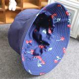 Leisure vários efeitos chapéu de caçamba de poliéster com logotipo personalizado
