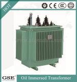 Transformator van de Distributie van de Macht van de Kern van het koper de Olie Ondergedompelde 24kv aan 400V