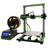Le métal Anet E10 Half-Kit Fdm de Bureau en gros de l'emballage verte grande taille d'impression nouvelle imprimante 3D