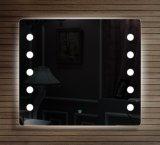 PVC装飾的な浴室用キャビネットのためのホテルアルミニウムLEDのミラー