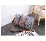 Faixa de lona moda Senhora Boston Bag Semana mala bolsa de viagem (WDL0824)