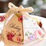 Kreative Papierverpackenkasten-Dreieck-Tortenschachtel