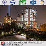Construction préfabriquée de structure métallique de modèle modulaire d'architecture de coût bas