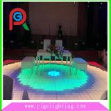 당 결혼식 단계를 위한 경제 60X60cm 디지털 춤 LED 지면
