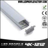 Profil en aluminium du support extérieur DEL pour l'éclairage de bande du câble DEL