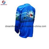 服装の人のためのカスタム昇華釣ワイシャツを採取する長い袖