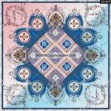 中国製流行の平方された絹のスカーフ