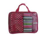 Sacchetti cosmetici impostati, sacchetti delle signore di bellezza di modo di Polyester/PVC di trucco impostati