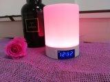 De beste Levering van de Fabriek, Kleurrijke HOOFD Lichte Draadloze Bluetooth Spreker, de Draagbare Draadloze Spreker van de Digitale Vertoning voor Mobiele Telefoon