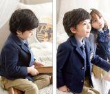 عادة روضة أطفال [سكهوول ونيفورم] فصل خريف وشتاء لباس أطفال صنف دعوى ثلاثة مجموعة من [بريمري سكهوول] طالب متّسقة