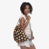 2018 New Fashion Mulher Mini Coreano mochila esportiva das mulheres saco para roupa suja exterior padrão adorável garota Dom Ombro personalizada