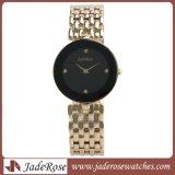 Waterdicht nam Gouden Horloge, de Horloges van het Kwarts van Dames toe