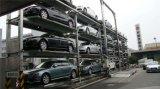 4 níveis que levantam deslizando sistemas do estacionamento