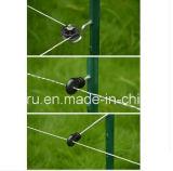 Рр Вращающийся дисплей угловой стойки сопла для электрического ограждения/ролик винтовой электрический фехтование изолятор