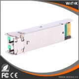 De 3de partij 1000BASE-CWDM SFP 1470nm1610nm 80km DOM van de Netwerken van de jeneverbes Zendontvanger