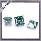 Jewelry를 위한 녹색 Color 5*5mm Princess Cut Moissanite