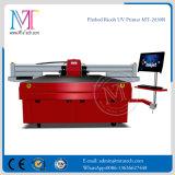 Impresora de inyección de tinta ULTRAVIOLETA a granel de la base plana de los muebles de la fuente de la tinta de Refretonic Digital