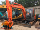 Hitachi usado mini máquina escavadora de 6 toneladas com lâmina Hitachi Zx60