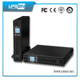 Tura de alta frecuencia de doble conversión UPS en línea de montaje en rack 1k-10kVA.