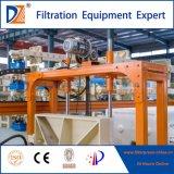 Dz paño automática de filtro prensa de la cámara de sistema de lavado en máquina con PLC.