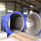 2850X5000mmの電気熱対流のガラス薄板になるオートクレーブ(SN-BGF2850)