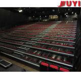 Tribuna manual del blanqueador retractable telescópico de la gradería cubierta del precio de fábrica para el auditorio